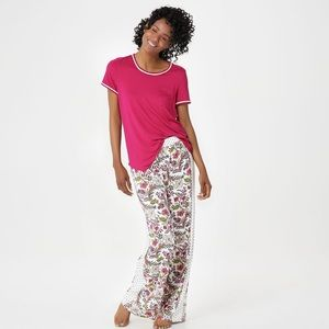 Cuddl Duds Cool & Airy pajama set